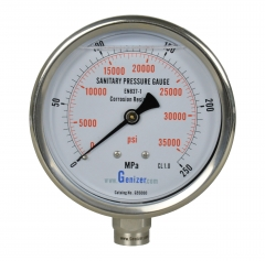Sanitary High Pressure Gauge